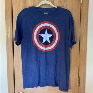 Marvel Comics T-Shirt Captain American Active Tee